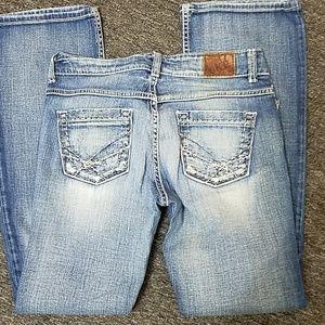 BKE jeans size 27 / 31 -1/2 EUC